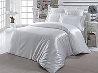 Постельное белье шелковый атлас White
