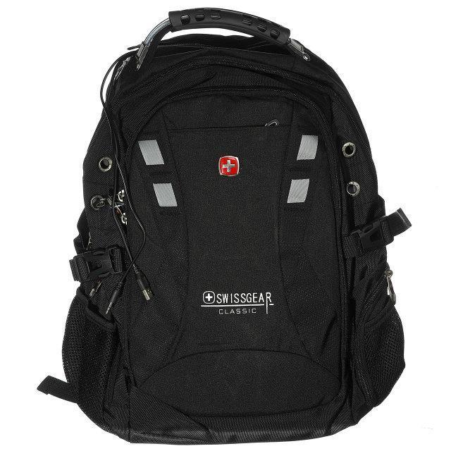 Рюкзак городской спортивный Swissgear (9371) Черный