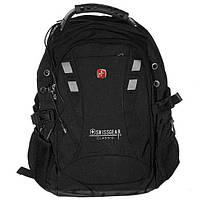 Рюкзак городской спортивный Swissgear (9371) Черный, фото 1