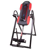 Инверсионный стол inSPORTline Inverso Heaty (тренажер для позвоночника спины механический), фото 1