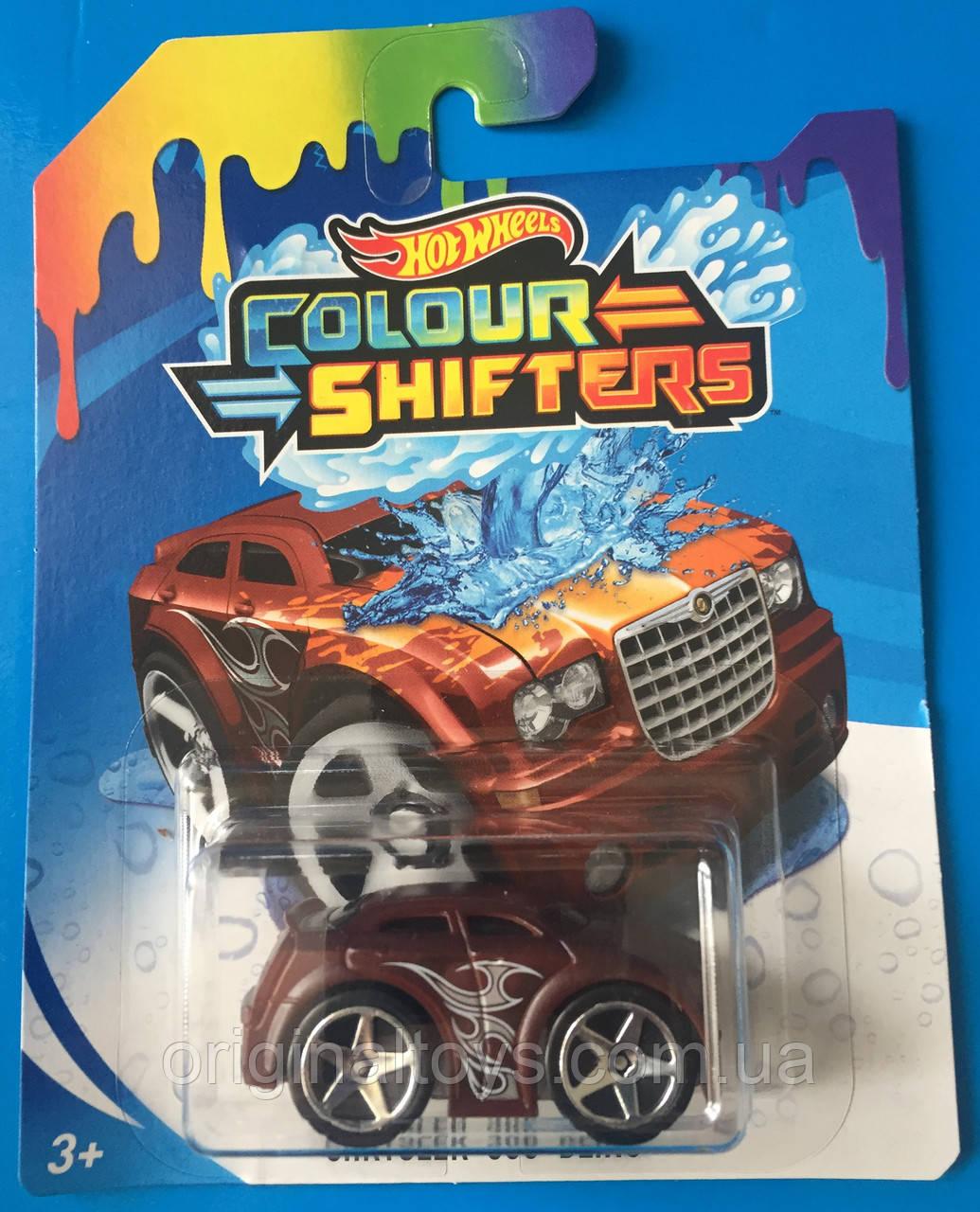 Машинка Hot Wheels, Измени цвет модель Chrysler 300C Bling