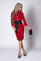 Костюм мод №723-2, размеры 40,48,50 красный