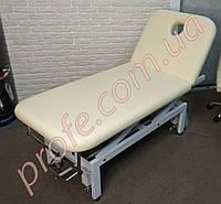 Косметологическая кушетка ZD-837A с электроприводом, бежевая, фото 1