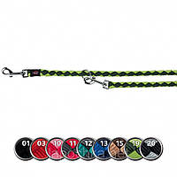 Поводок-перестежка Trixie Cavo Reflect Adjustable Leash для собак светоотражающий 18 мм, 2 м