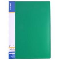 Папка-швидкозшивач пластикова ECONOMIX A4, CLIP A, зелена, E31201-05