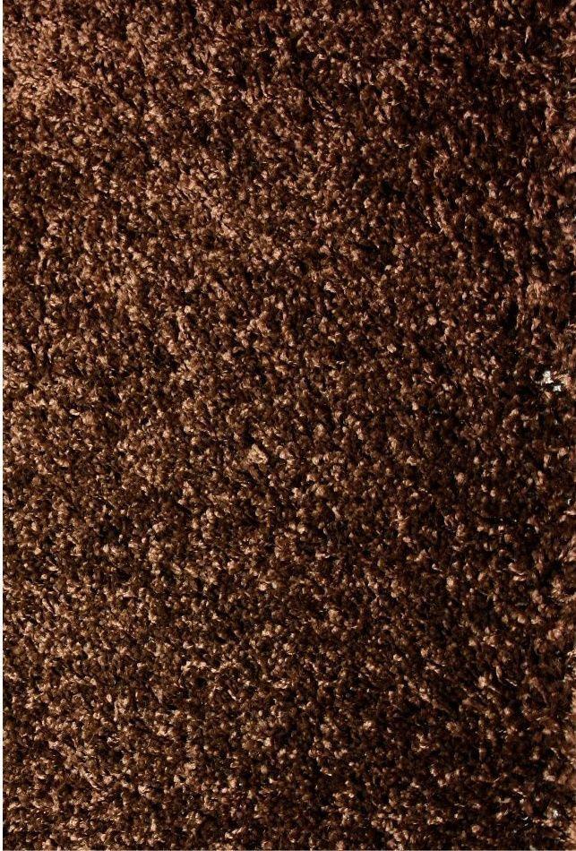 Ковер Карат (Karat) Shaggy DeLuxe 8000/13 коричневый 200х300
