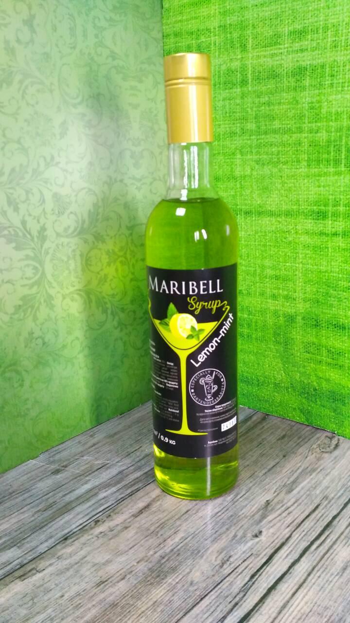 Сироп со вкусом лимон-мята Maribell