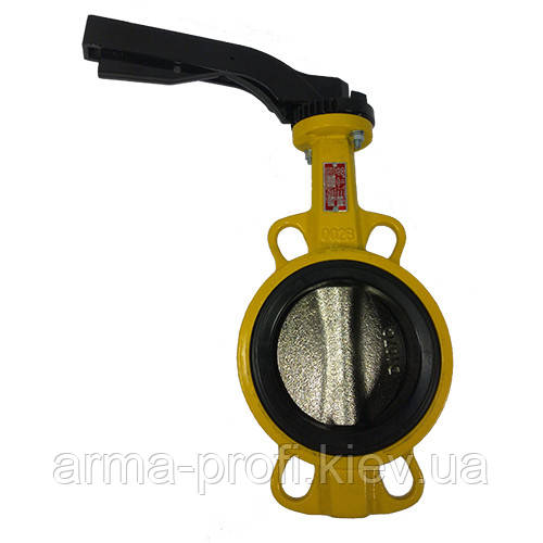 Задвижка Баттерфляй для газа AYVAZ Ду 65
