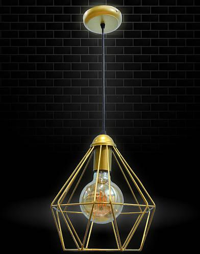 Потолочный подвесной Loft-светильник NL 0537 G