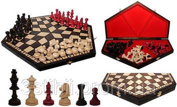Шахматы Madon На троих король 85 мм (3162), фото 3