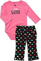 Детский комплект для девочки Carter's  24 месяца.