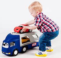 Игрушечная машинка Автовоз Трейлер с машинками Little Tikes 170430