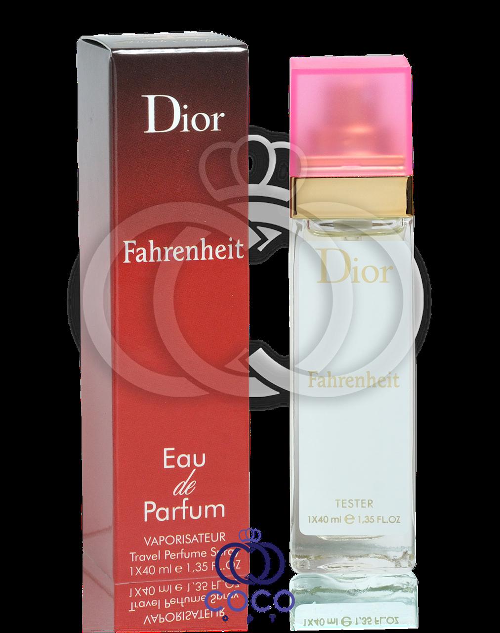 Мужской мини парфюм Christian Dior Fahrenheit (тестер) 40 мл