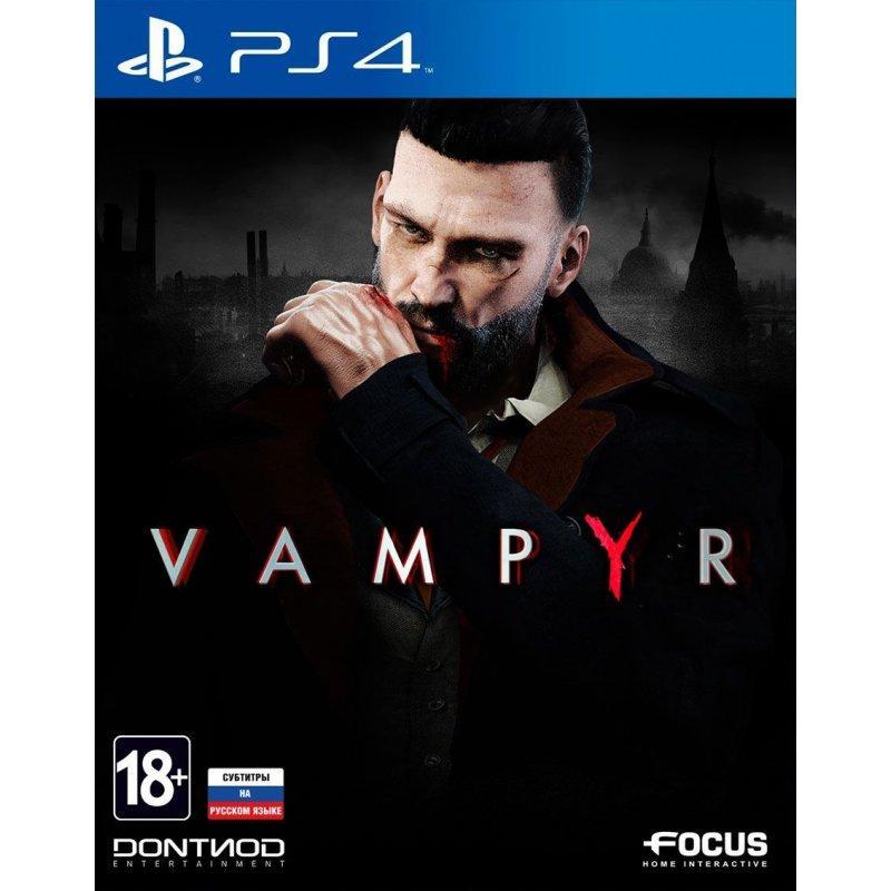 Игра Vampyr для Sony PS 4 (русские субтитры)