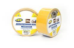 Двусторонняя лента (скотч) HPX для гладких поверхностей, ковров и линолеума - эконом