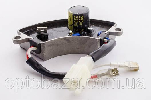 Автоматический регулятор напряжения (класс А) AVR (дуга) для генераторов 2 кВт - 3 кВт, фото 2