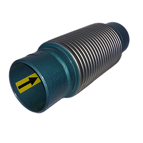 Сильфонный компенсатор осевой приварной с внутренней вставкой L=30