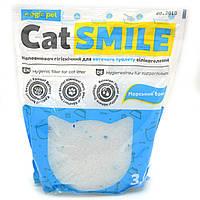Наполнитель Cat Smile 3,6 л силикагель морской бриз