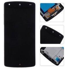 Дисплей для LG D820 Nexus 5/D821/D822 с тачскрином и рамкой черный Оригинал