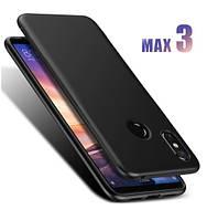 Силиконовый TPU чехол JOY для Xiaomi Mi Max 3 черный