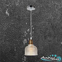 Люстра подвесная AuroraSvet loft 12400 прозрачная. LED светильник люстра. Светодиодный светильник люстра.