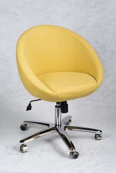Кресло Marbino Office Malaga желтое