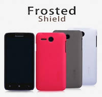 Чехол для Lenovo A316 - Nillkin Super Frosted Shield (пленка в комплекте)