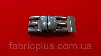 Пряжка разъемная 25 мм металл черненная