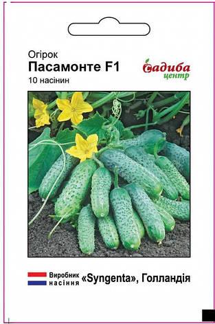 Огурец Пасамонте F1, 10 сем (Садыба Центр), фото 2