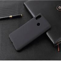 Силиконовый TPU чехол JOY для Xiaomi Redmi Note 6 Pro черный