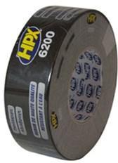 Универсальная ремонтная лента HPX 6200 50 мм x 25 м Черная