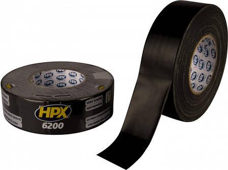 Универсальная ремонтная лента HPX 6200 50 мм x 25 м Черная, фото 2
