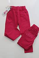 Котоновые брюки для девочек 4- 12 лет