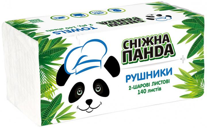 Сніжна Панда рушники лист 140 листов