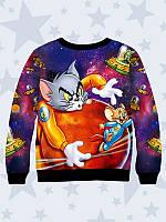 Свитшот для мальчика Tom&Jerry рост 140-152 146