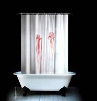 Шторка для ванны Фильм Ужасов