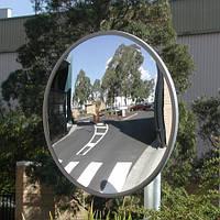 Дорожное сферическое зеркало диам 90см
