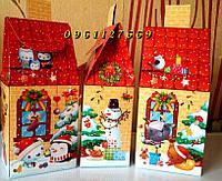 Красивая Новогодняя коробка на конфети