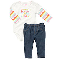 Детский комплект для девочки Carter's  12,  24 месяца