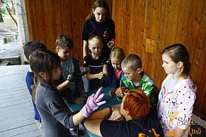 Квест в детском лагере для Ульяны 10 лет 27.07.2018