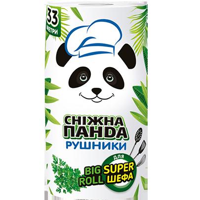 Сніжна Панда рушники BIG ROLL 1 ш