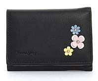Женский маленький вместительный прочный вместительный кошелек TAILIAN art.T6036-015 черный, фото 1