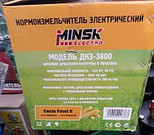 Зернодробилка, Млин, ДКУ Minsk 3.8 кВт, бункер 10 л, фото 3