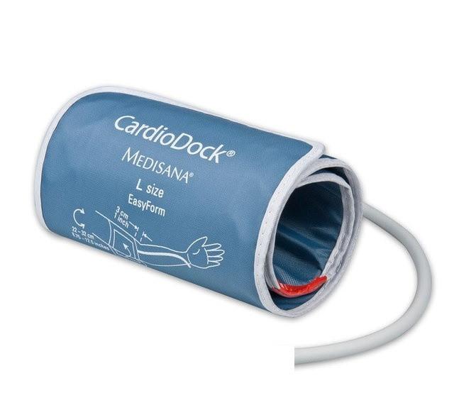 Манжета CardioDock безболезненная, каркасная для электронного тонометра на плечо, обхват 22-32 см., Medissana