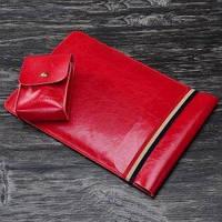 Чехол - карман для iPad 12.9 (2017-2018) Coteetci Leather Bag   красный