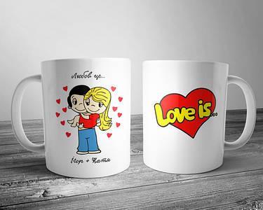 Чашки для улюблених