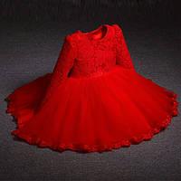 Платье для девочки  с бантом, фото 1
