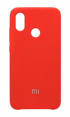 Чехол Silicone Case для Xiaomi Mi8 SE прорезиненный оригинальный