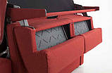Раскладной диван METROPOLIS с ортопедическим матрасом шириной 180 см, фабрика Alberta Salotti (Италия) , фото 3