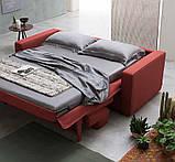 Раскладной диван METROPOLIS с ортопедическим матрасом шириной 180 см, фабрика Alberta Salotti (Италия) , фото 7